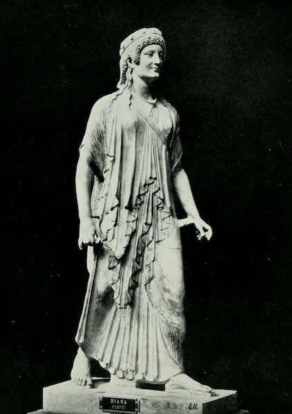 Pompeii, Painted and Described - The Archaic Artemis (1910)