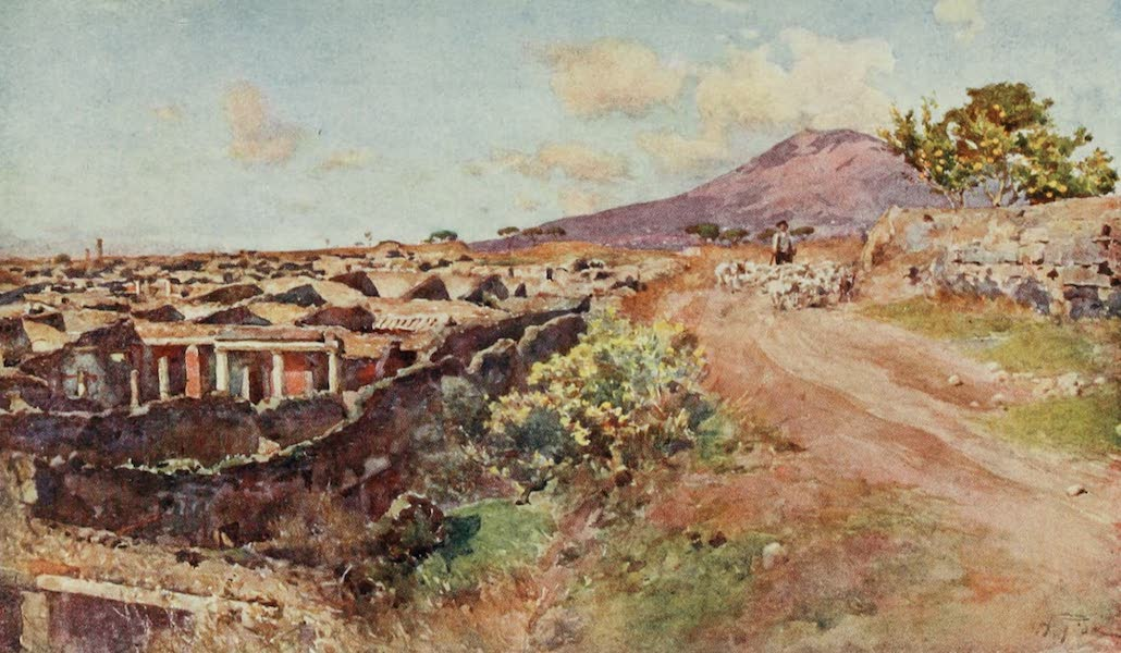 Pompeii, Painted and Described - The City Covered and Uncovered (1910)