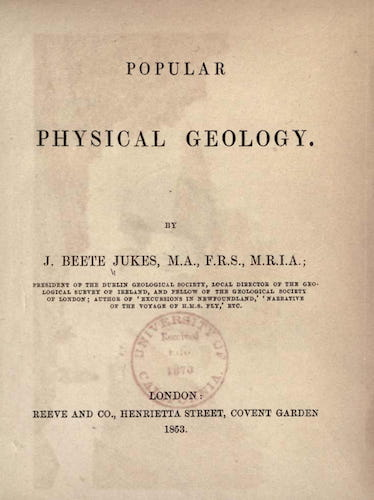 Popular Physical Geology (1853)