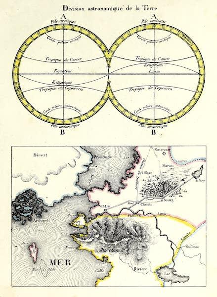 Porte-Feuille Geographique et Ethnographique [Atlas] - Division astronomique de la Terre (1820)