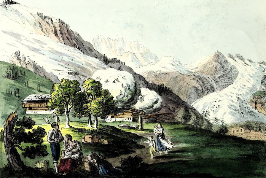 Porte-Feuille Geographique et Ethnographique [Atlas] - Avalanche (1820)