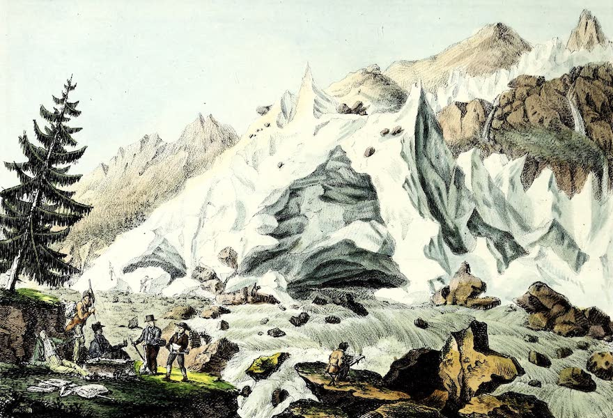 Porte-Feuille Geographique et Ethnographique [Atlas] - Grotte de l'Arveron (1820)