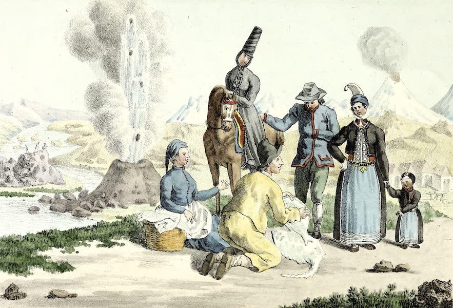 Porte-Feuille Geographique et Ethnographique [Atlas] - Islandais (1820)