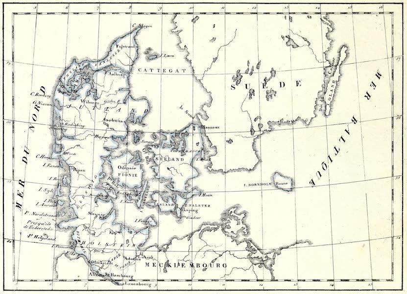 Porte-Feuille Geographique et Ethnographique [Atlas] - Carte du Dannemarck (1820)