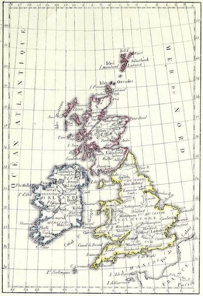 Porte-Feuille Geographique et Ethnographique [Atlas] - Carte des Isles Brittanniques (1820)