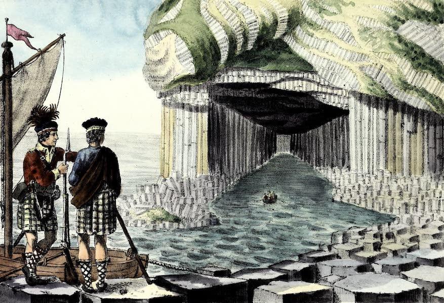 Porte-Feuille Geographique et Ethnographique [Atlas] - Grotte de Fingal (1820)