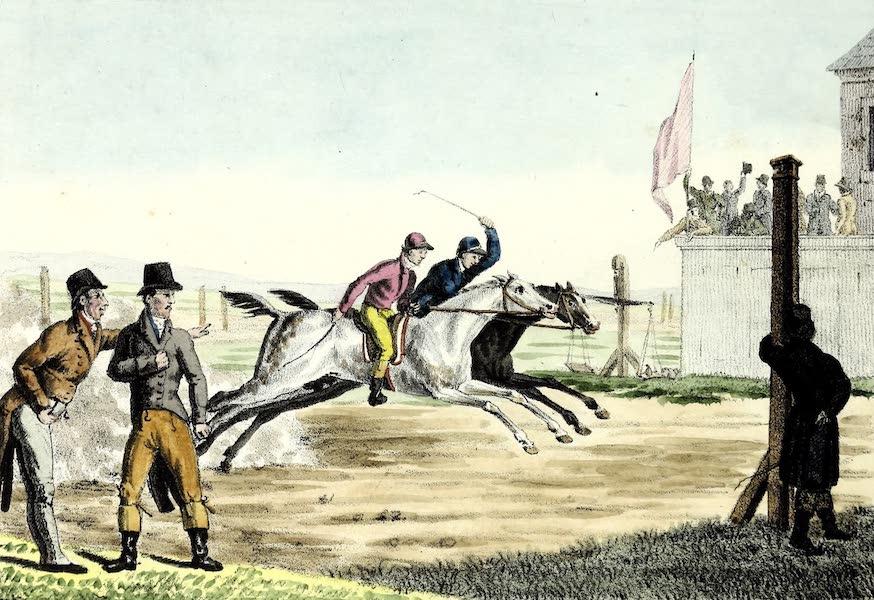 Porte-Feuille Geographique et Ethnographique [Atlas] - Course de Cheveaux Anglaises (1820)