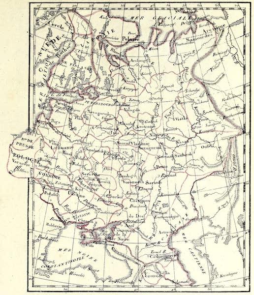 Porte-Feuille Geographique et Ethnographique [Atlas] - Carte de la Russie (1820)