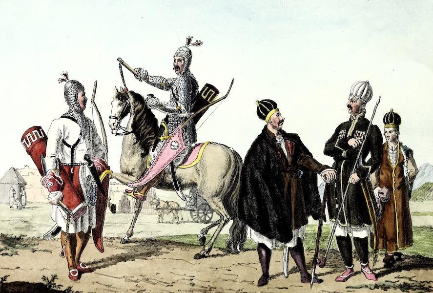 Porte-Feuille Geographique et Ethnographique [Atlas] - Peuples du Caucase (1820)