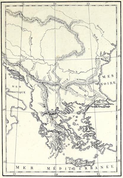 Porte-Feuille Geographique et Ethnographique [Atlas] - Carte physique de la Turquie (1820)