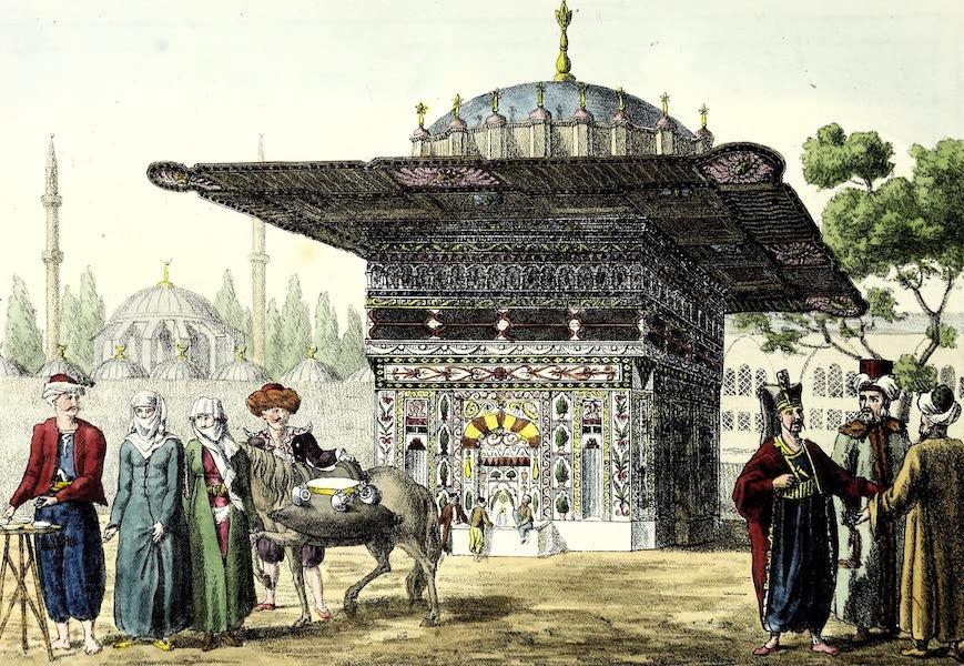 Porte-Feuille Geographique et Ethnographique [Atlas] - La fontaine de Top-Hane a Constantinople (1820)