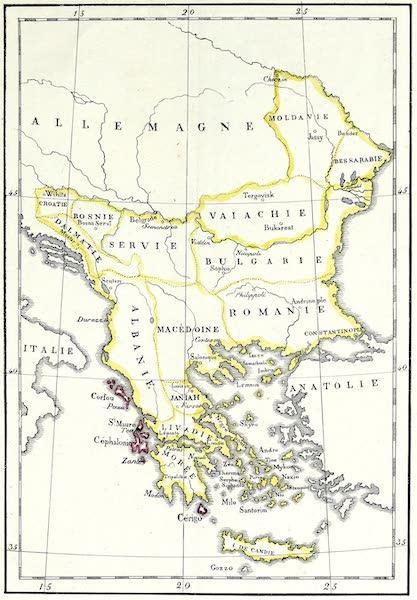 Porte-Feuille Geographique et Ethnographique [Atlas] - Carte politique de la Turquie (1820)