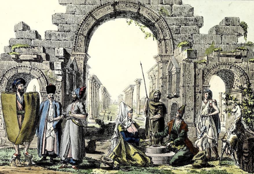Porte-Feuille Geographique et Ethnographique [Atlas] - Ruines de Palmyre (1820)
