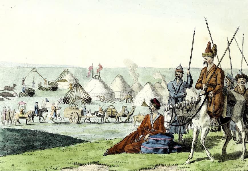 Porte-Feuille Geographique et Ethnographique [Atlas] - Kalmouks (1820)