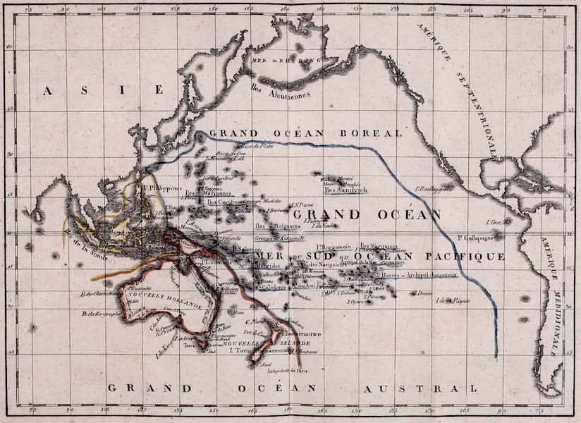 Porte-Feuille Geographique et Ethnographique [Atlas] - Oceanie (1820)