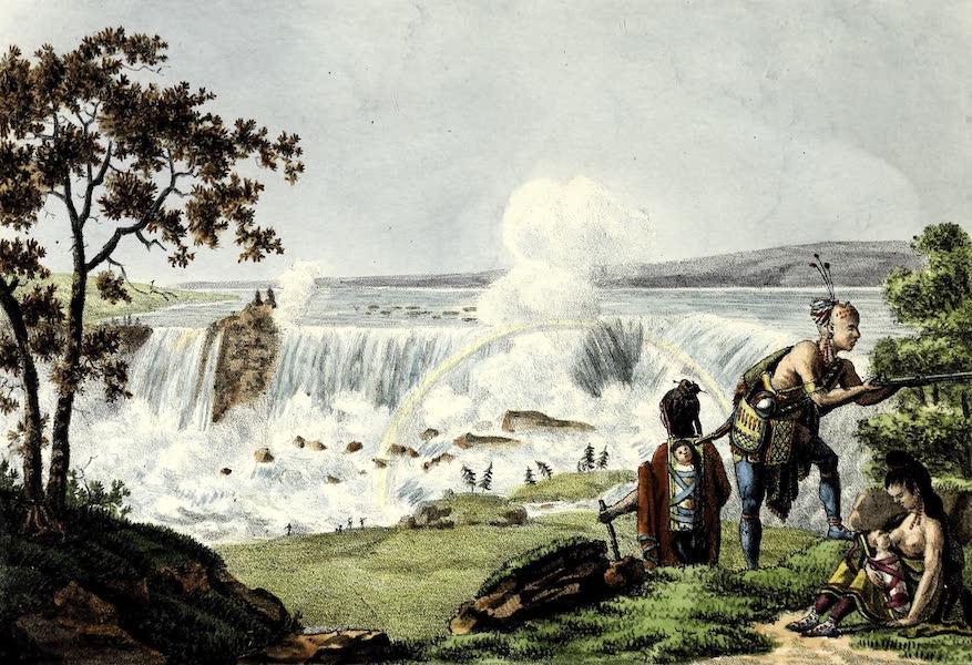 Porte-Feuille Geographique et Ethnographique [Atlas] - Chute du Niagara (1820)