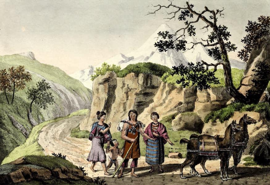 Porte-Feuille Geographique et Ethnographique [Atlas] - Habitans de Quito (1820)