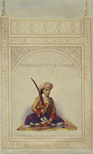 Portraits of the Princes and People of India (1844)