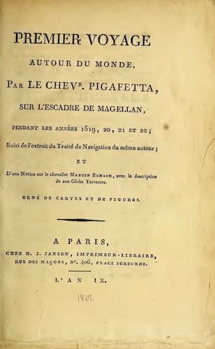 French - Premier Voyage Autour du Monde
