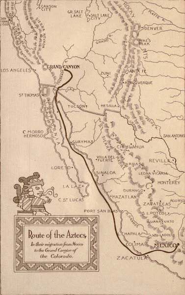 Prince Izon; a Romance of the Grand Canyon - Route of the Aztecs (1910)