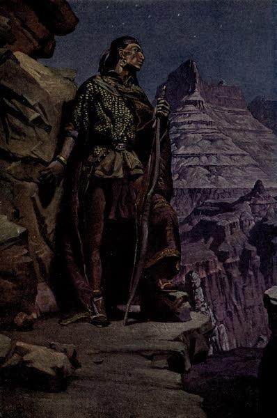 Prince Izon; a Romance of the Grand Canyon - Black Eagle on Guard (1910)
