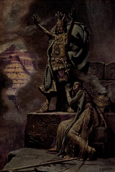 Prince Izon; a Romance of the Grand Canyon - On the Parapet - Topeltzin's Magic (1910)