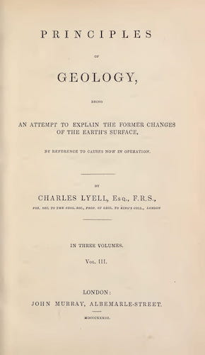 Geology - Principles of Geology Vol. 3