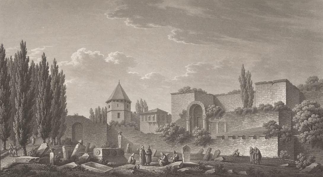 Promenades Pittoresques dans Constantinople Atlas - II. Vue de la Porte Dorée (1817)