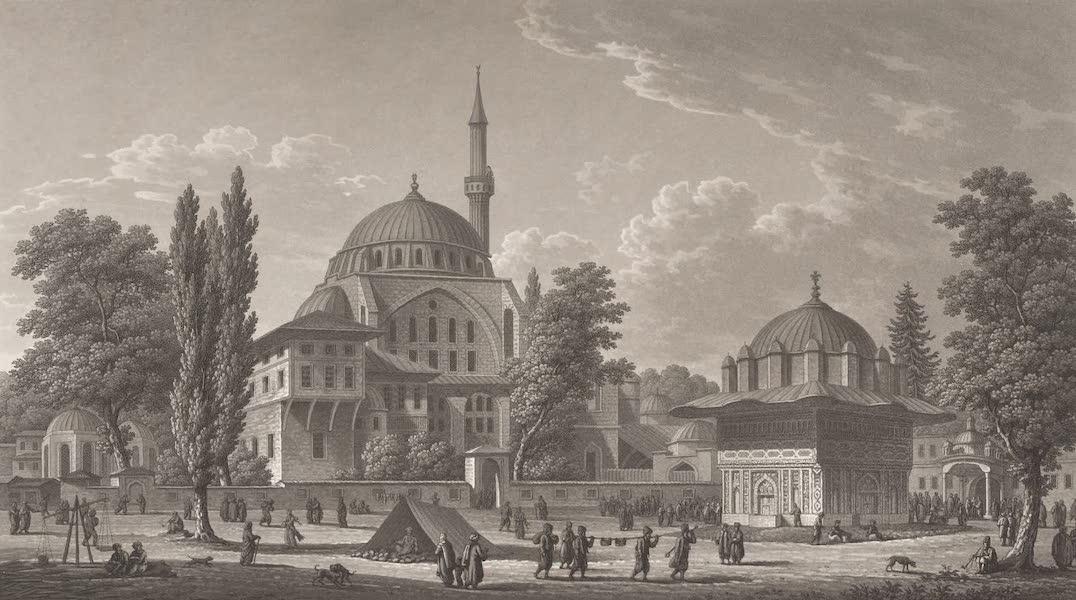Promenades Pittoresques dans Constantinople Atlas - IV. Vue de la place de Top-Khané (1817)