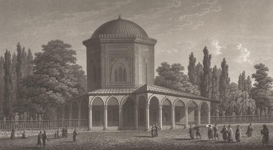 Promenades Pittoresques dans Constantinople Atlas - IX. Vue du tombeau du sultan Suleïman (1817)