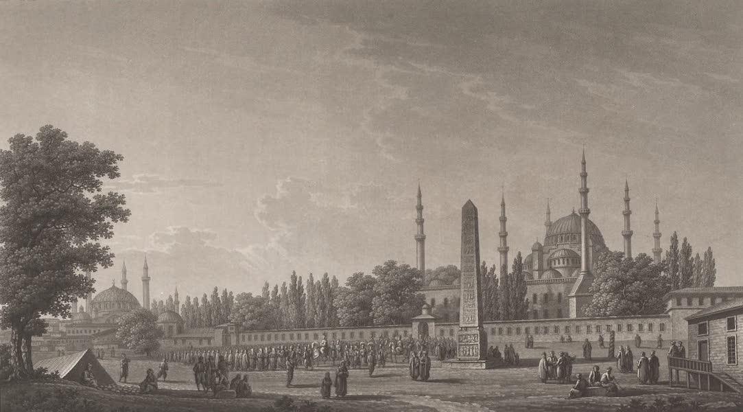 Promenades Pittoresques dans Constantinople Atlas - X. Vue de la place de l'Hyppodrome (1817)