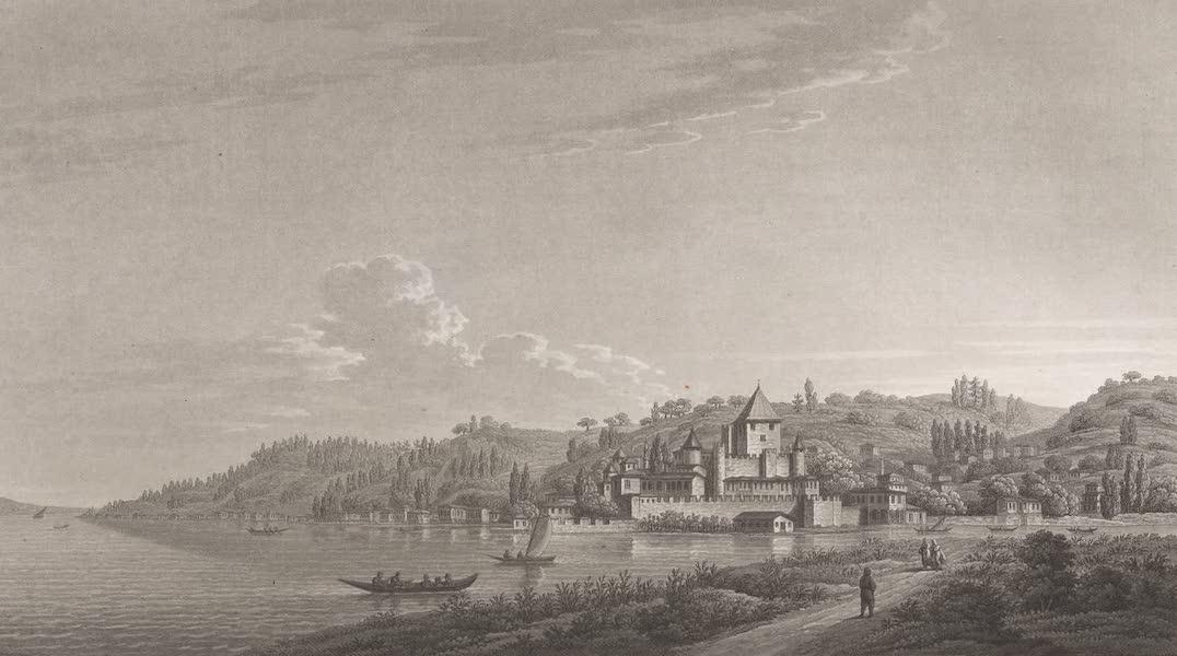 Promenades Pittoresques dans Constantinople Atlas - XIV. Vue d'Anadoli Hissar (1817)