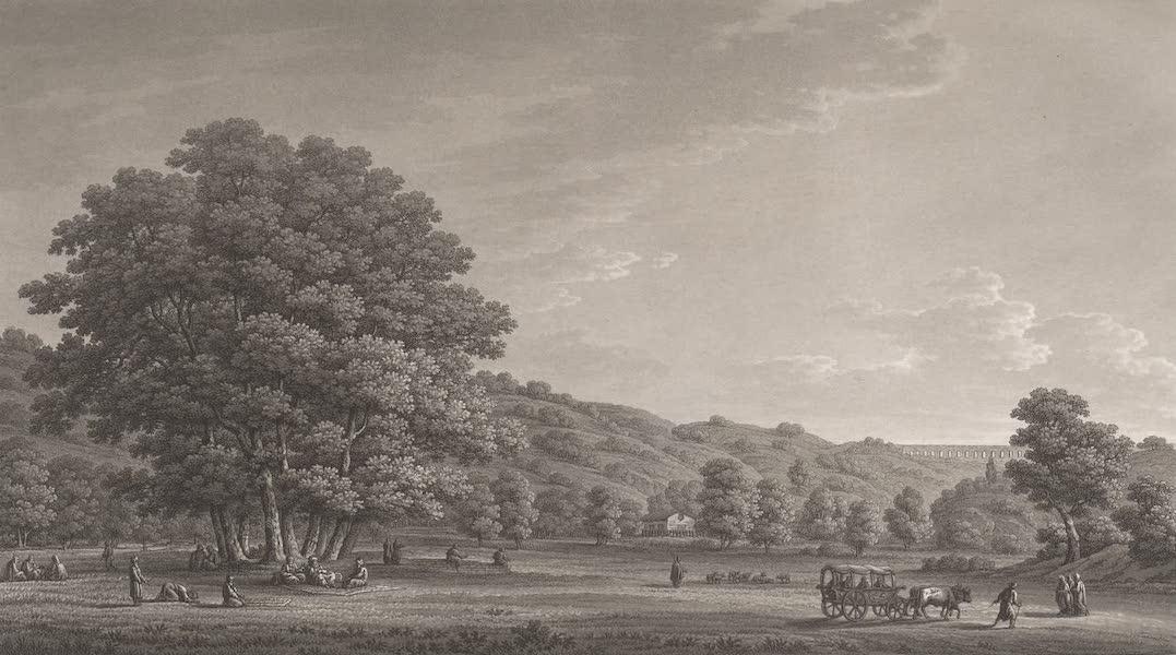 Promenades Pittoresques dans Constantinople Atlas - XXI. Vue de la Vallée de Rujuk-Dèré (1817)