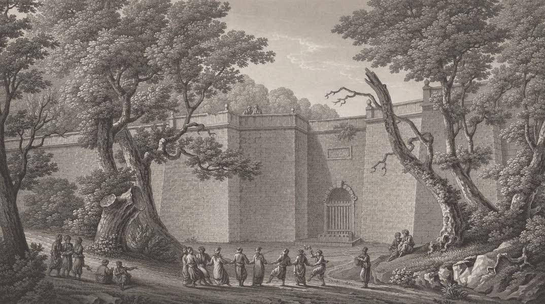 Promenades Pittoresques dans Constantinople Atlas - XXII. Vue du binde de la Validé (1817)