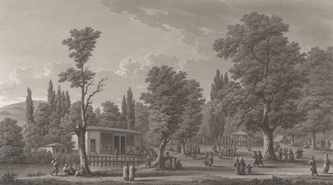 Promenades Pittoresques dans Constantinople Atlas - XXIII. Vue de la Vallée du Grand Seigneur (1817)