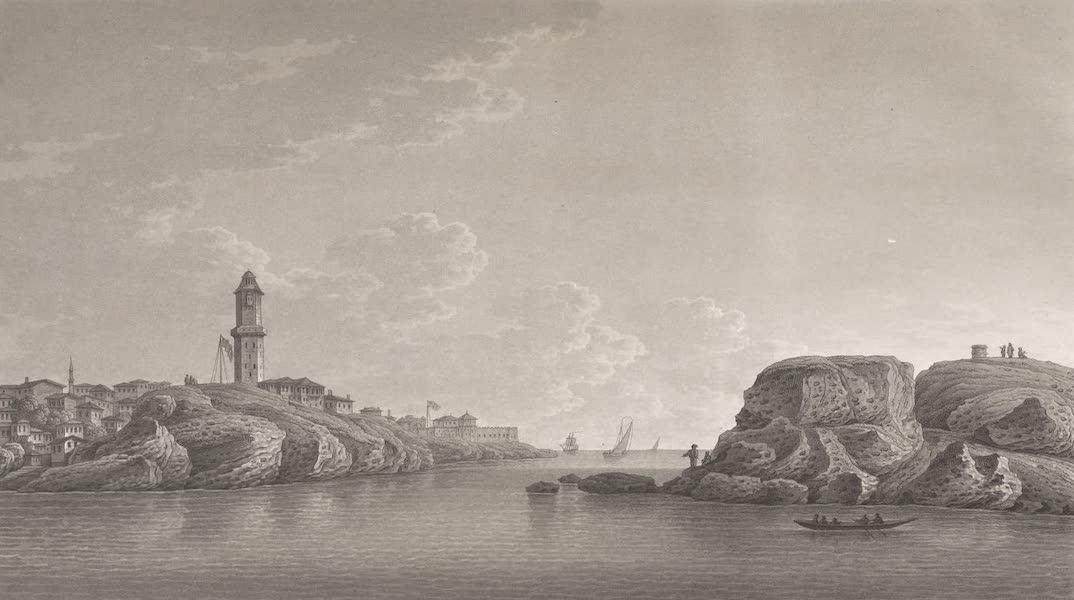 Promenades Pittoresques dans Constantinople Atlas - XXV. Vue de Fanaraki et des Cyanees (1817)