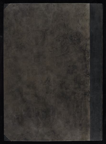Promenades Pittoresques dans Constantinople Atlas - Back Cover (1817)