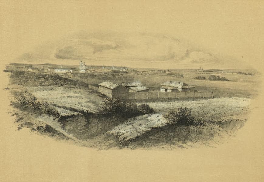 Puteshestvie po vostochnoi Sibiri - Vid Irkutska (1856)