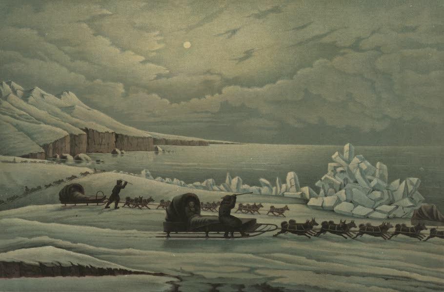 Puteshestvie po vostochnoi Sibiri - Zimniaia doroga po beregu Okhotskago moria (1856)