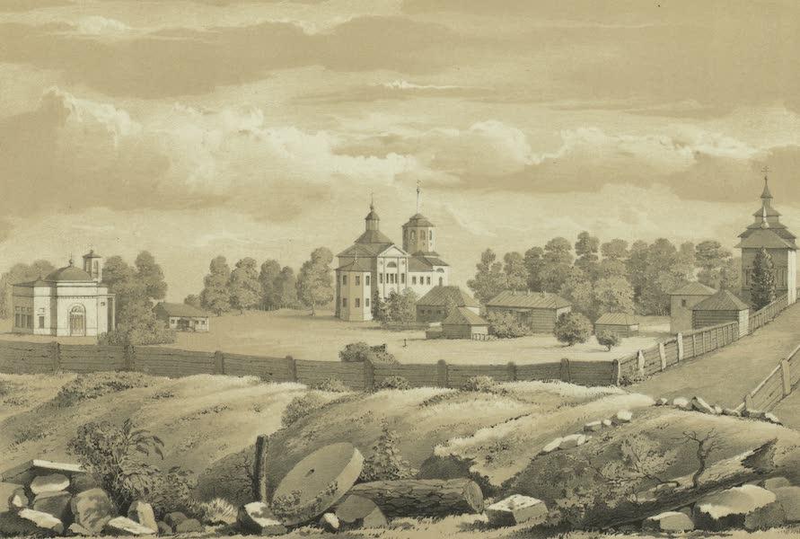 Puteshestvie po vostochnoi Sibiri - Kirenskii Sviato-Troitskii monastyr' (1856)