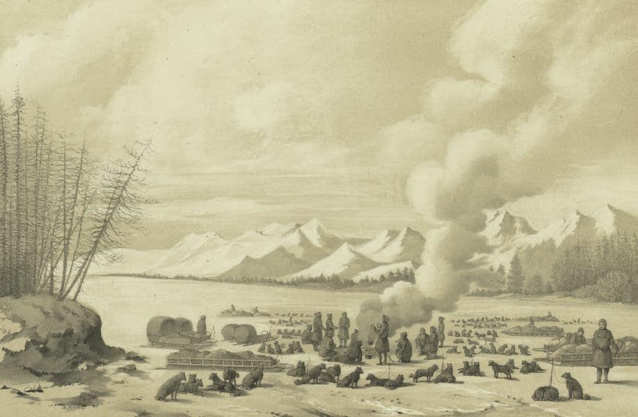 Puteshestvie po vostochnoi Sibiri - Otdykh na reke Taue (1856)