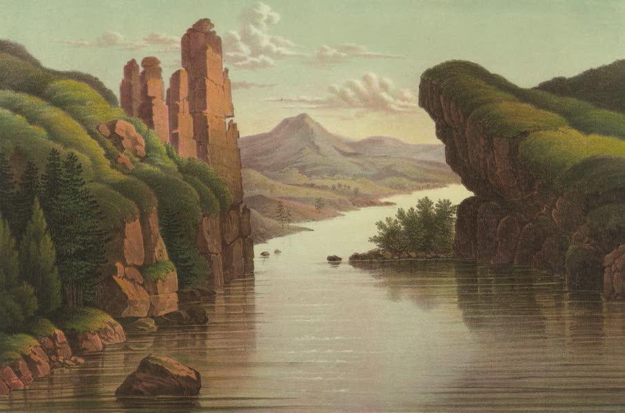 Puteshestvie po vostochnoi Sibiri - Vid na reku Lenu. Urskiia vorota (1856)