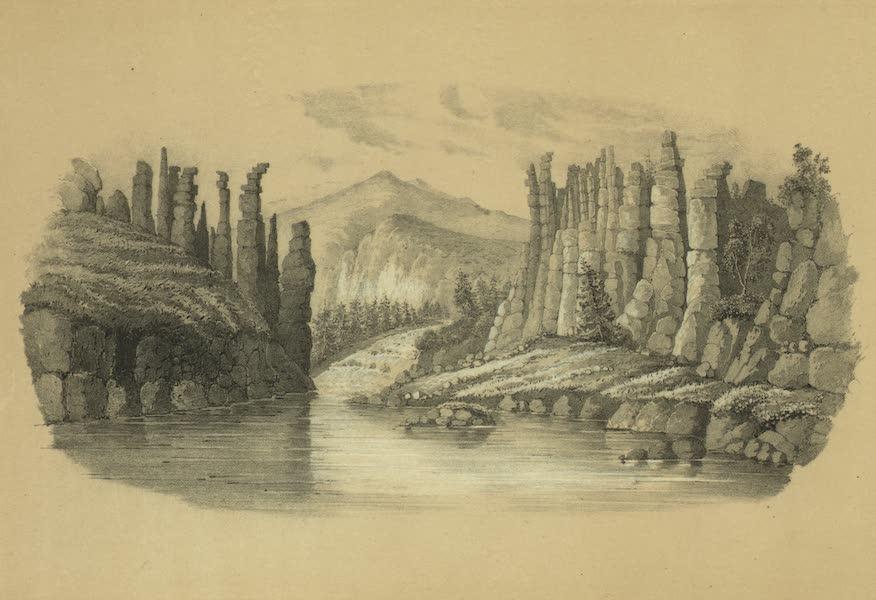 Puteshestvie po vostochnoi Sibiri - Rechka Stolbovka vpadaiushchaia v reku Lenu (1856)