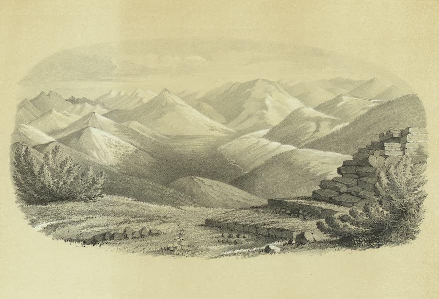 Puteshestvie po vostochnoi Sibiri - Vid Iablonago khrebta po okhotskomu traktu (1856)
