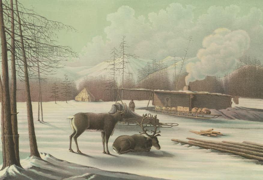 Puteshestvie po vostochnoi Sibiri - Zimniaia stantsiia po Okhotskomu traktu (1856)