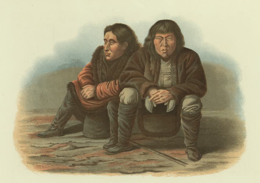Puteshestvie po vostochnoi Sibiri - Brodiachie tungusy (1856)