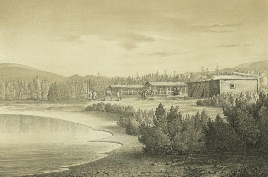 Puteshestvie po vostochnoi Sibiri - Letniaia stantsiia po Okhotskomu traktu (1856)