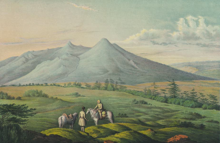 Puteshestvie po vostochnoi Sibiri - Vid gory Morekan bliz Okhotska (1856)
