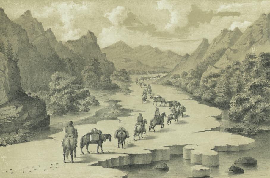 Puteshestvie po vostochnoi Sibiri - Pereezd po naledi po traktu v Okhotsk (1856)