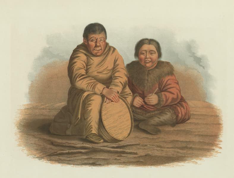 Puteshestvie po vostochnoi Sibiri - 1-Zhitel' oliutorskago seleniia. 2-Brodiachii tungus (1856)